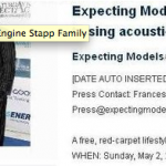 "Expecting Models Fashion Show/Grammy Award winning Scott Stapp to perform acoustic version of ""Arms Wide Open"""