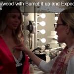 Expecting Models and Bump It Up on Access Hollywood: Behind The Scenes