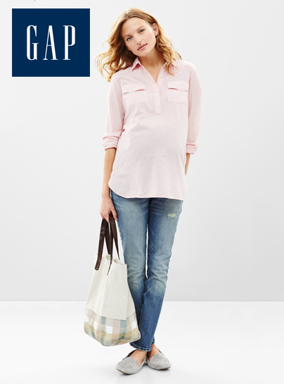 Amanda Booth for GAP Maternity 8