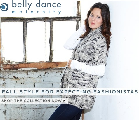 Pregnant fashion model- Belly Dance maternity