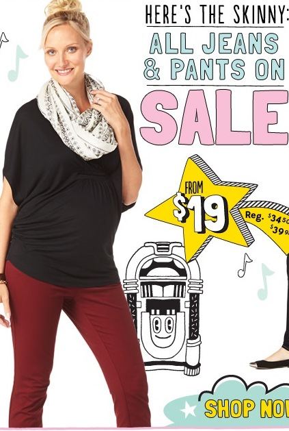 Expecting Models Agency for Old Navy Maternity- The Stork