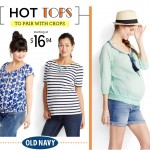 Expecting Models for Old Navy 1