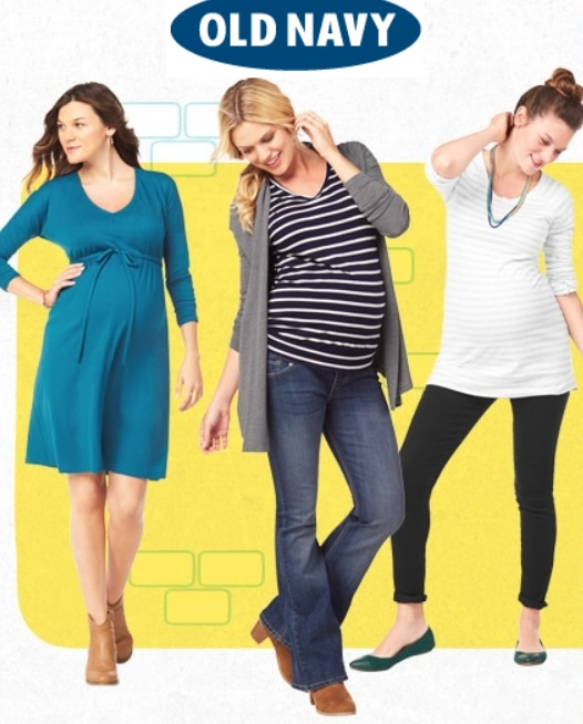 b67fbdf23fe87 Old Navy Maternity Clothes- Expecting Models - The Stork Magazine ...