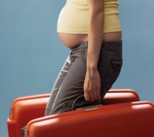 Pregnant list of things to bring during travels