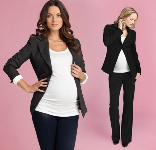 Ingrid and Isabel- One Button Blazer
