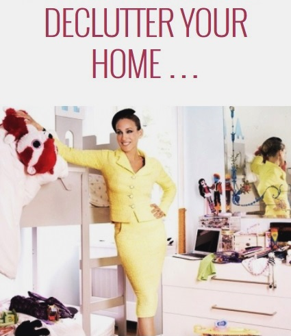 De-clutter your home, make room for the new