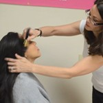 Maternity Model Makeup Tips by Liza Elliott-Ramirez of Expecting Models