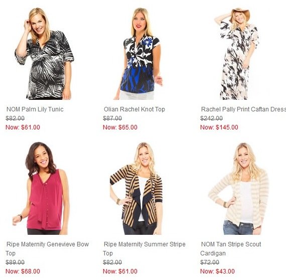 Maternity Clothes on Sale