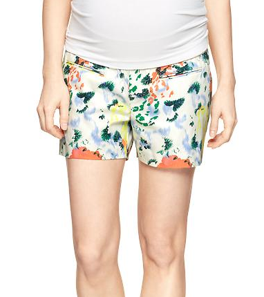 Floral Supportive Shorts