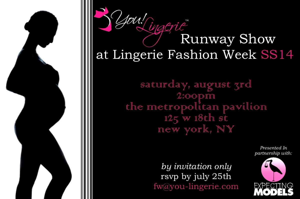 You! Lingerie Fashion Show!