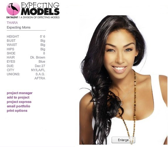 Thara Natalie- Jay Sean-  Expecting Models