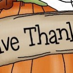 Giving Thanks on Thanksgiving!