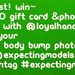 Expecting Models CONTEST on Instagram!