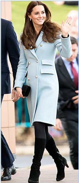 Kate Middleton's first trimester Maternity looks
