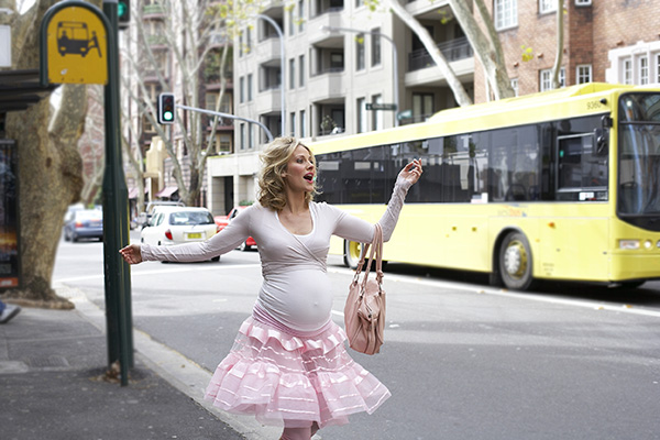 pregnant in the city