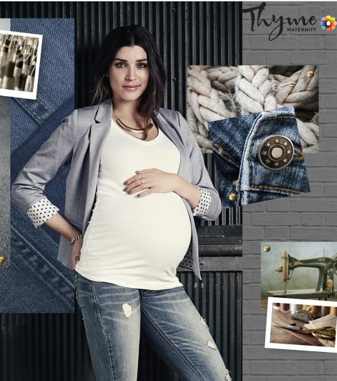 Maternity Fashion- Denim jeans