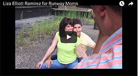 Liza Elliott-Ramirez Runway Moms Expecting Models