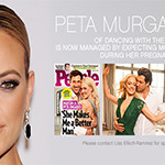 Peta Murgatroyd now signed with Expecting MODELS