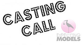 MATERNITY CASTING IN LOS ANGELES FOR MEDIUM TO PLUS SIZE PREGNANT MODEL JOB